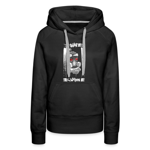 Graffiti is no crime - Frauen Premium Hoodie