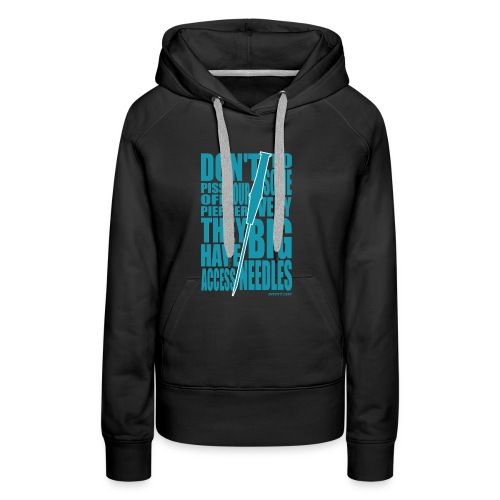 Needles Blue - Women's Premium Hoodie
