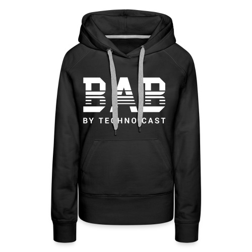 BAB white - Frauen Premium Hoodie