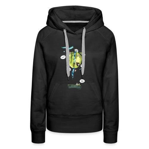 T-shirt Maison de L'aventure - Sweat-shirt à capuche Premium pour femmes