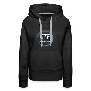 CTF BLUE/WHITE - Vrouwen Premium hoodie