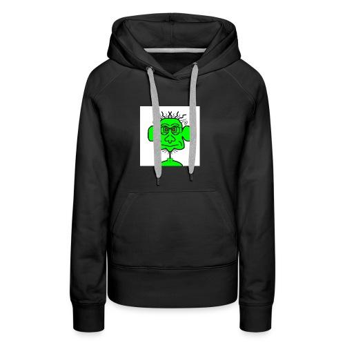 groene potje - Vrouwen Premium hoodie