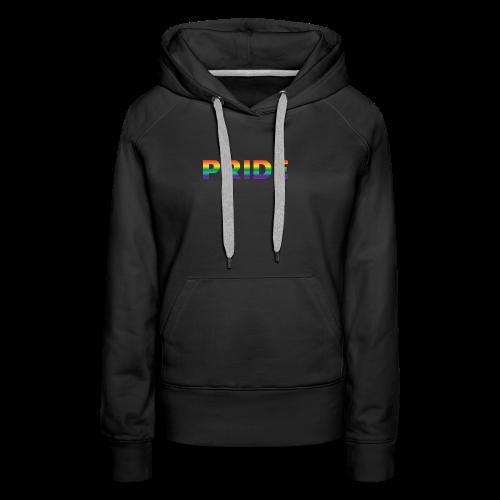 Gay pride in rainbow kleuren - Vrouwen Premium hoodie