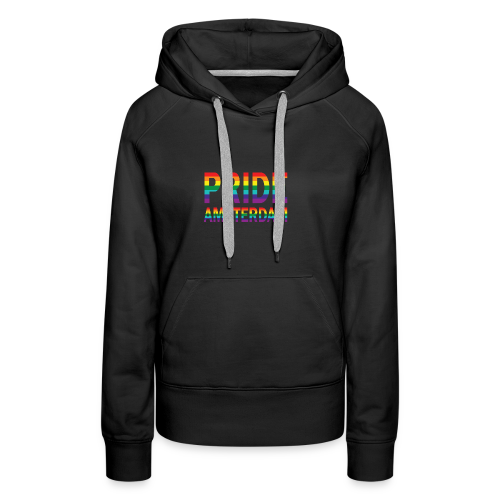 Pride Amsterdam in regenboog kleuren - Vrouwen Premium hoodie