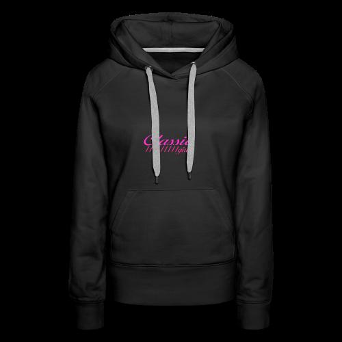 ClassicGirlPink - Frauen Premium Hoodie