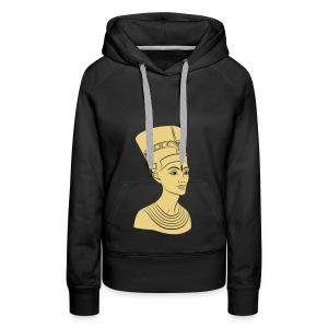 Nefertiti – Königin von Ägypten. Auch Golddruck! - Frauen Premium Hoodie