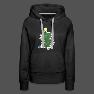 Christmas Kids-Drawing - Frauen Premium Hoodie