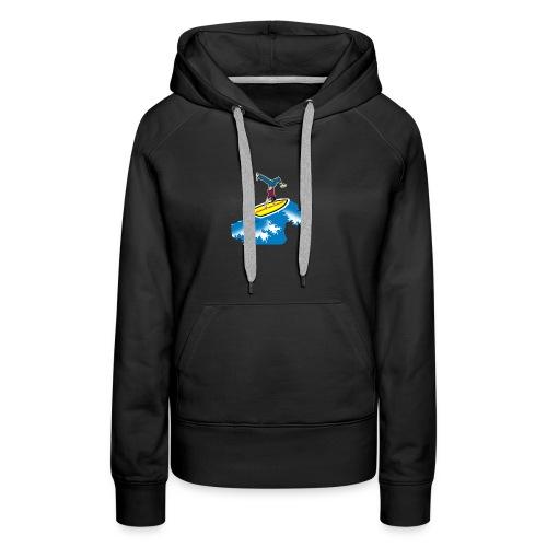 Shirts - Premiumluvtröja dam