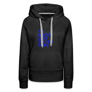 to write love on her arms blau - Frauen Premium Hoodie