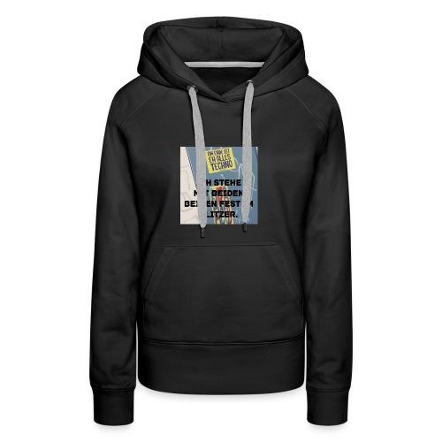 TechnoGlitzer - Frauen Premium Hoodie