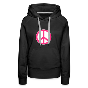 Peace, Love and Happiness - Vrouwen Premium hoodie