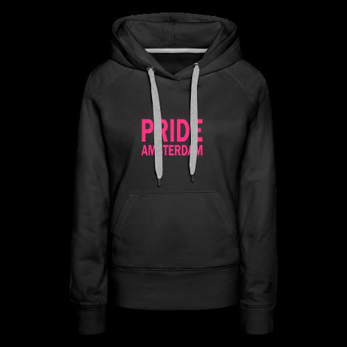 Pride Amsterdam in roze - Vrouwen Premium hoodie