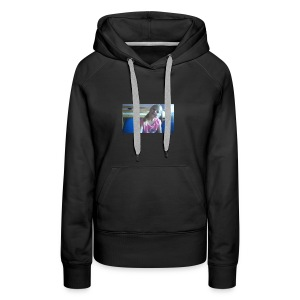 purple happy merch - Women's Premium Hoodie