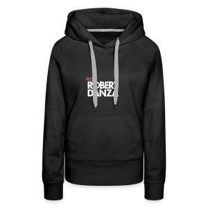 cap_logo_roze_miss_wit_copy - Vrouwen Premium hoodie