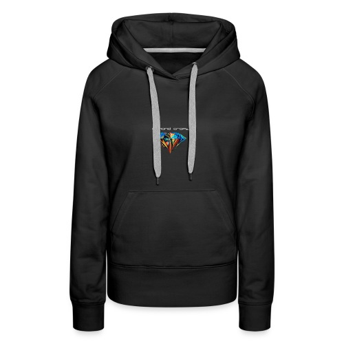 DiamondCraft Shine Like A Diamond. - Vrouwen Premium hoodie