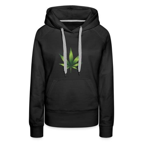 cannabisshirt - Frauen Premium Hoodie