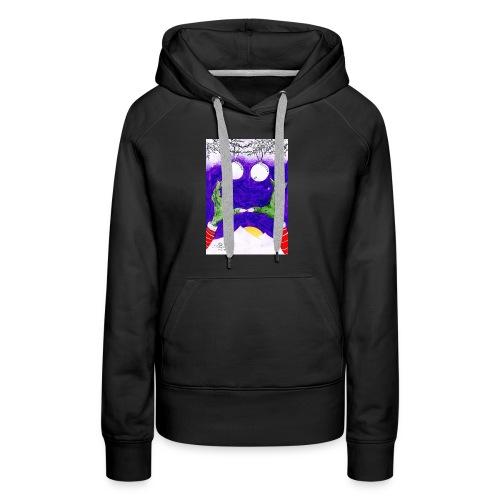 Monstruo - Sudadera con capucha premium para mujer