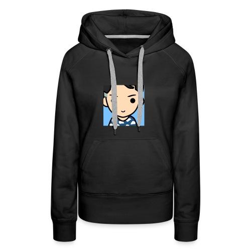 Mon logo oklm je vous le vend trankillle - Sweat-shirt à capuche Premium pour femmes
