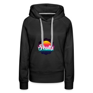 Retr0 Skullz - Women's Premium Hoodie