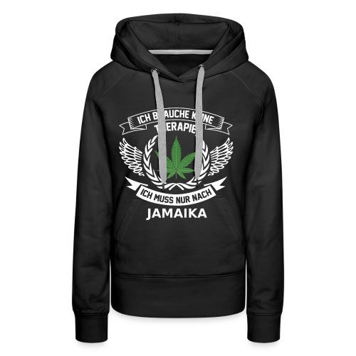Jamaica Hanfblatt T-Shirt Urlaub - Frauen Premium Hoodie
