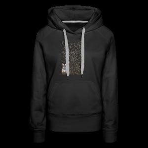 rabbit droppings mogosop - Vrouwen Premium hoodie