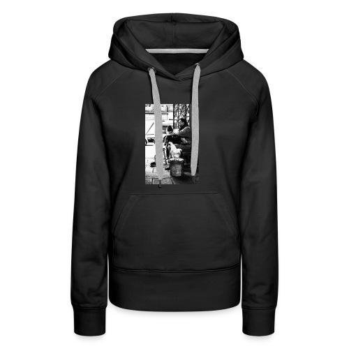 Straßen Musiker - Frauen Premium Hoodie