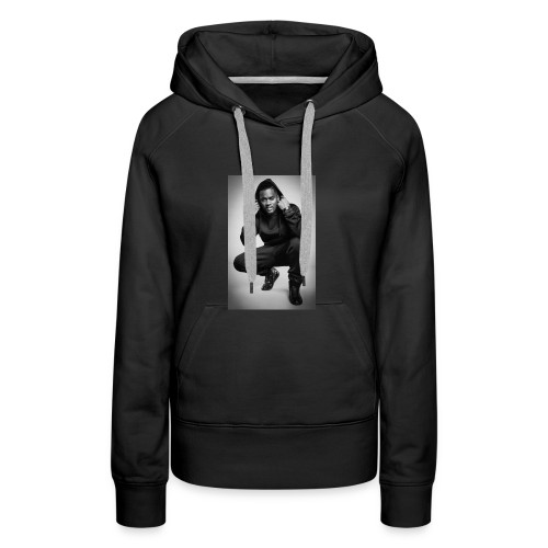 Black M - Sweat-shirt à capuche Premium pour femmes