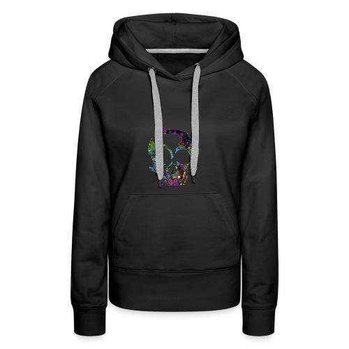 color skull - Vrouwen Premium hoodie