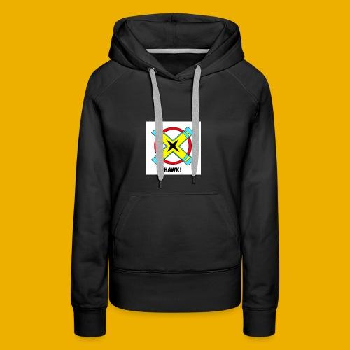 HAWKS - Sweat-shirt à capuche Premium pour femmes