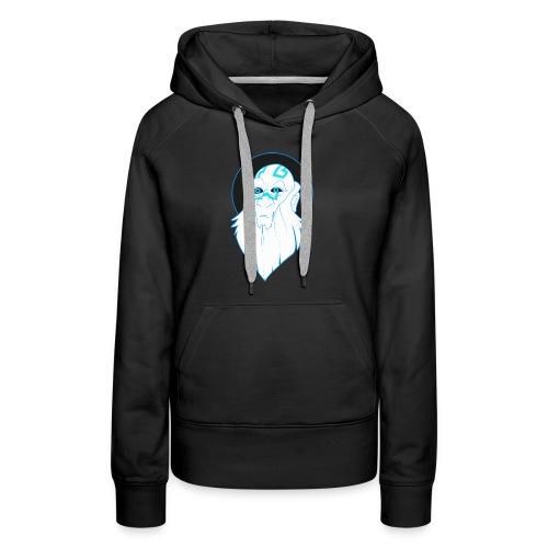 Roi des atlantes - Sweat-shirt à capuche Premium pour femmes