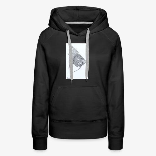 fishing - Sweat-shirt à capuche Premium pour femmes