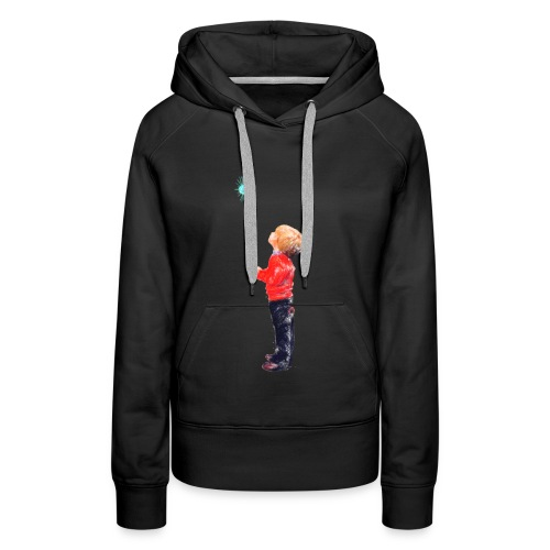The Boy and the Blue - Women's Premium Hoodie