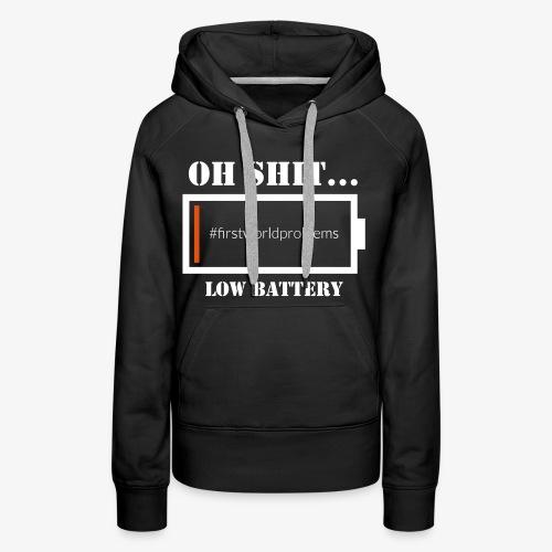 Low Battery - Frauen Premium Hoodie