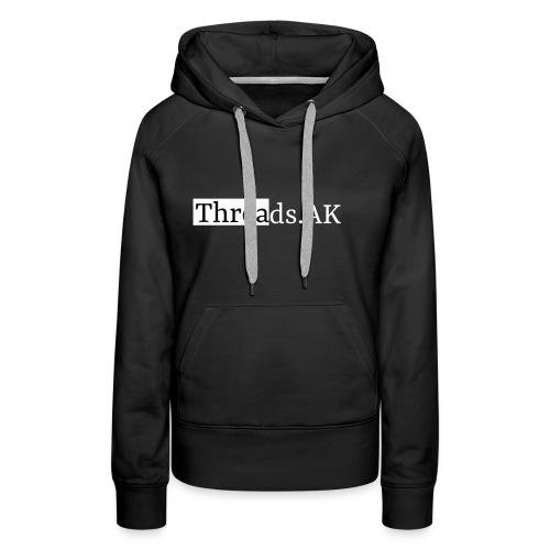 Threads.AK silhouette - Women's Premium Hoodie