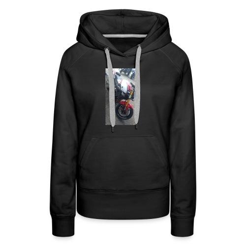 Sweat moto avec capuche - Sweat-shirt à capuche Premium pour femmes