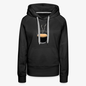 Coffee - Sweat-shirt à capuche Premium pour femmes