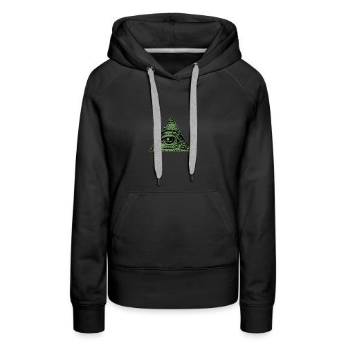 Iluminati - Sweat-shirt à capuche Premium pour femmes