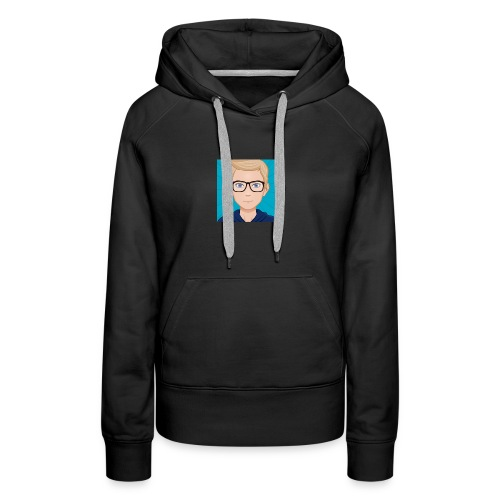 It's Crimsev Officail Profile Picture - Women's Premium Hoodie