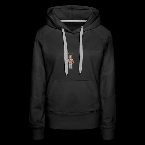 Free Alexia Design (Transparent) - Women's Premium Hoodie