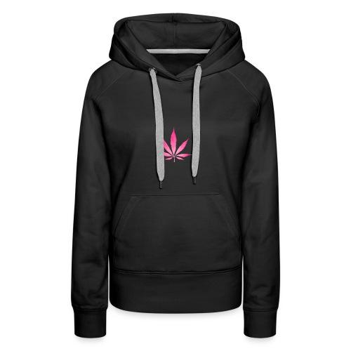 Leaf Pink - Frauen Premium Hoodie