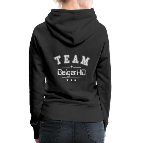 TEAM GeigerHD - Frauen Premium Hoodie