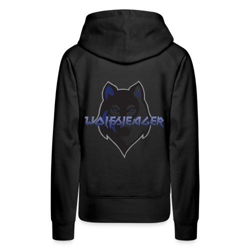 WolfsJeager - Frauen Premium Hoodie