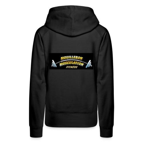 MMN - Sweat-shirt à capuche Premium pour femmes