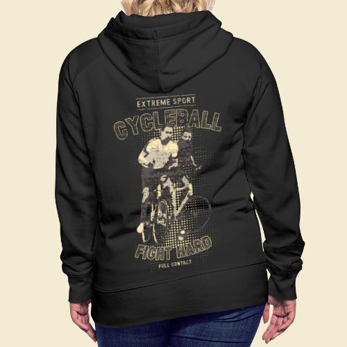 Radball | Fight Hard - Frauen Premium Hoodie