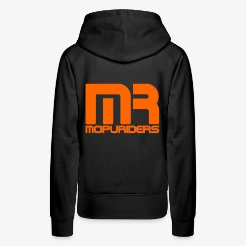 Mopriders Orange - Frauen Premium Hoodie