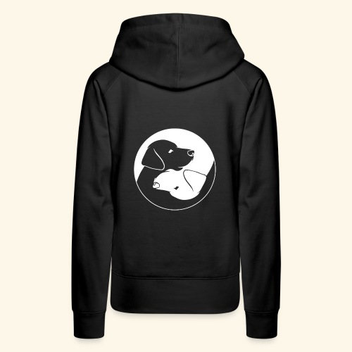 Yin Yang Labrador - Labbi - Geschenkidee - Frauen Premium Hoodie