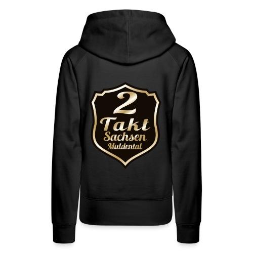 2 Takt Sachsen/ Muldental Merchandising - Frauen Premium Hoodie