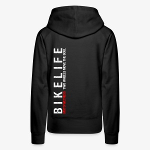 TWO WHEELS MOVE THE SOUL - Women's Premium Hoodie