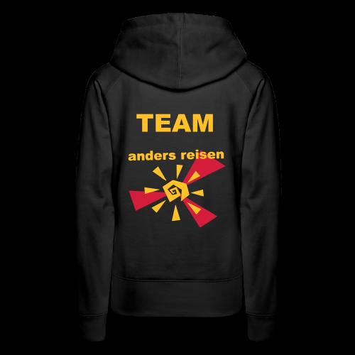 AndersReisen Teamer - Frauen Premium Hoodie