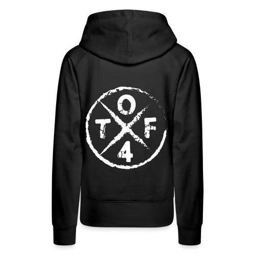 O4TF logo - Frauen Premium Hoodie